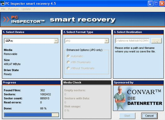 Inspector smart recovery