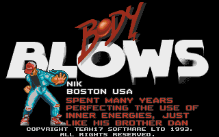 bodyblows